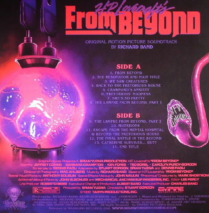 BAND, Richard - From Beyond (Soundtrack) (remastered)