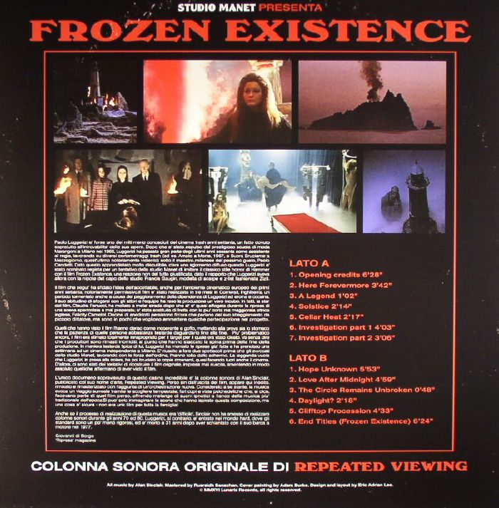 REPEATED VIEWING - Frozen Existence (Soundtrack)