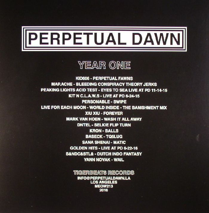 VARIOUS - Perpetual Dawn: Year One