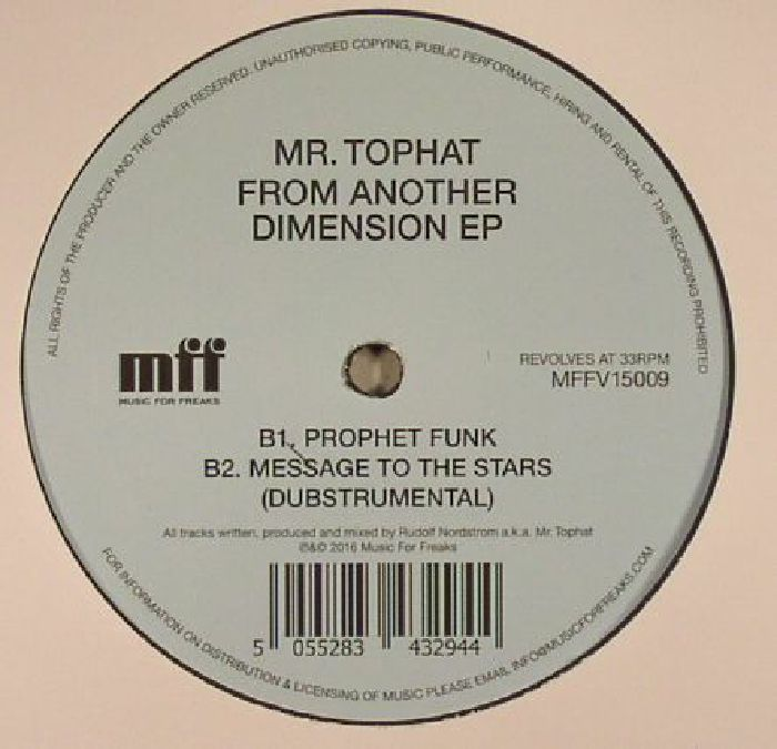 MR TOPHAT - From Another Dimension EP
