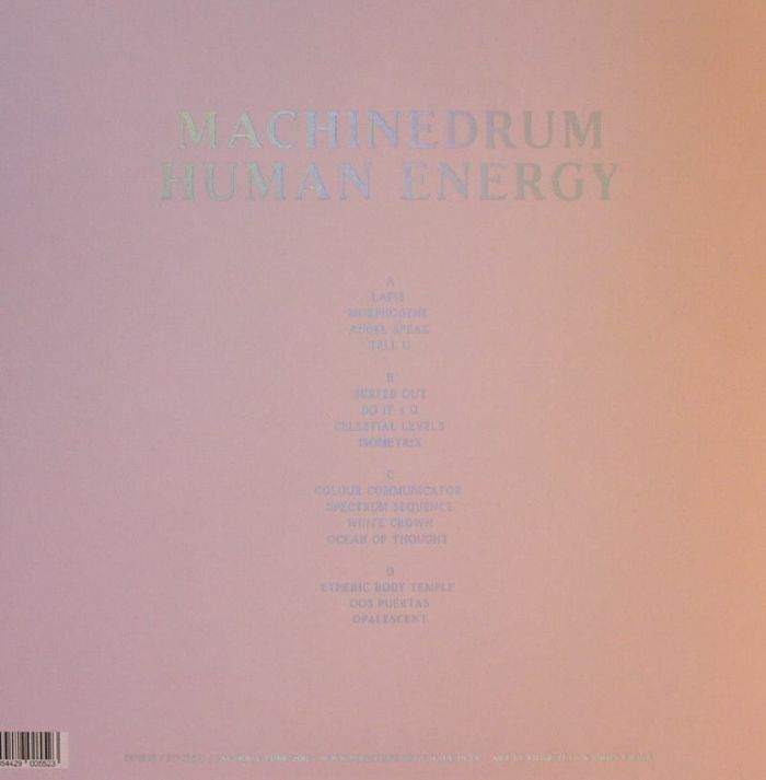 MACHINEDRUM - Human Energy