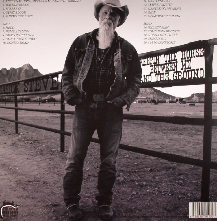 SEASICK STEVE - Keepin' The Horse Between Me & The Ground