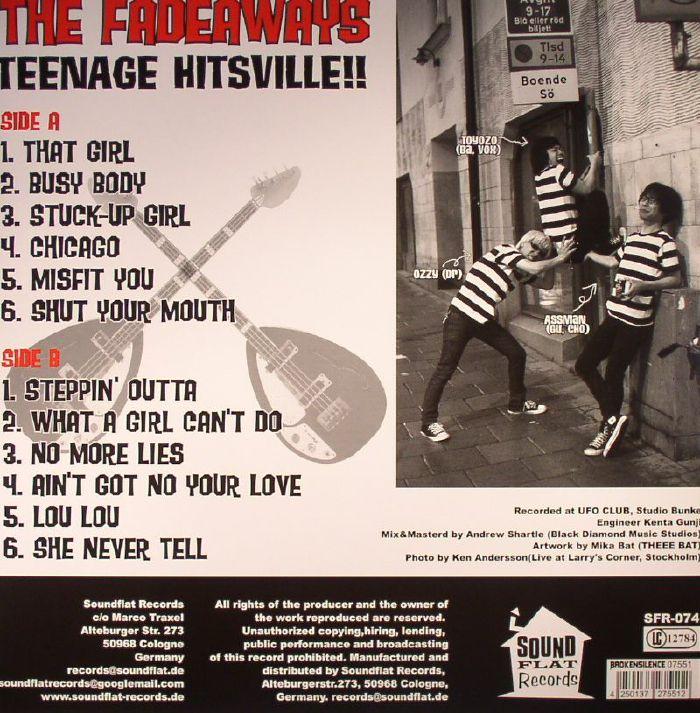 FADEAWAYS, The - Teenage Hitsville