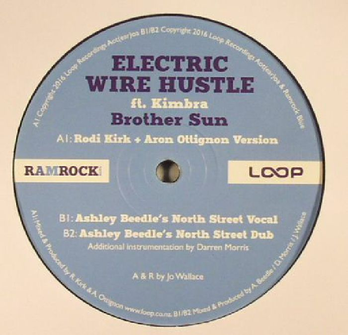 ELECTRIC WIRE HUSTLE feat KIMBRA - Brother Sun