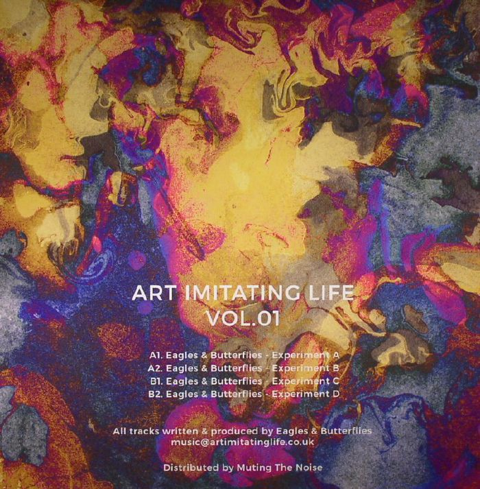 EAGLES & BUTTERFLIES - Art Imitating Life Vol 1