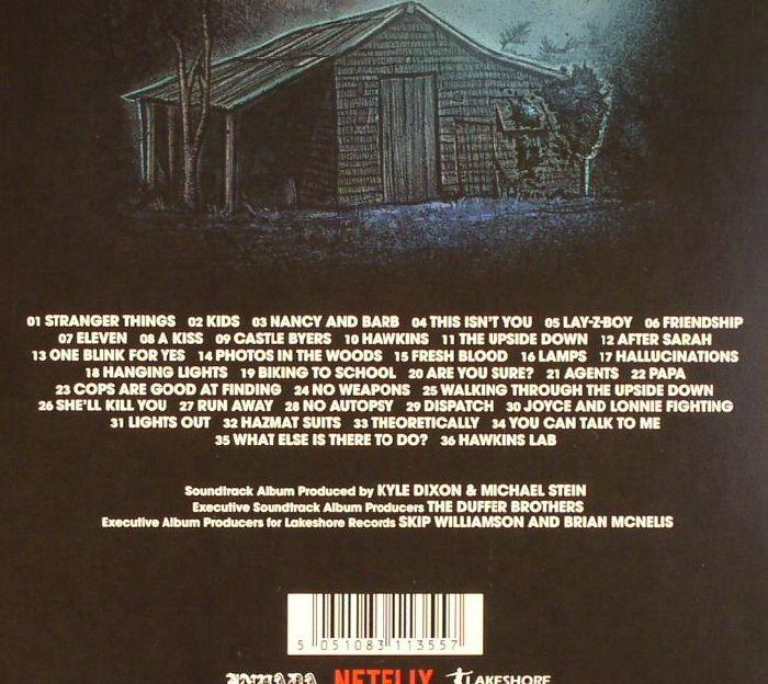 DIXON, Kyle/MICHAEL STEIN - Stranger Things: Volume 1 (Soundtrack)