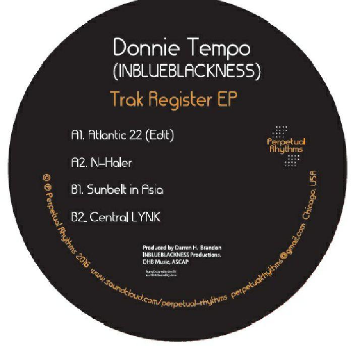 TEMPO, Donnie - Trak Register EP