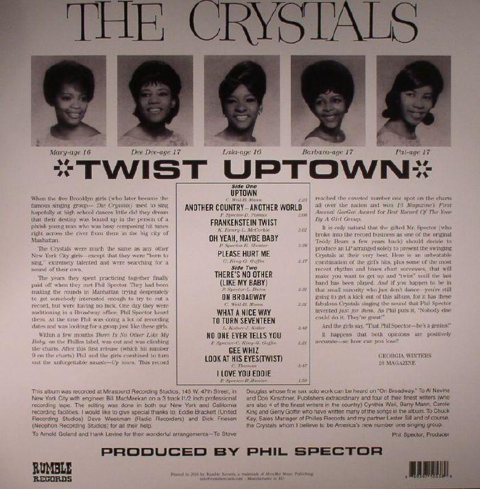 CRYSTALS, The - Twist Uptown
