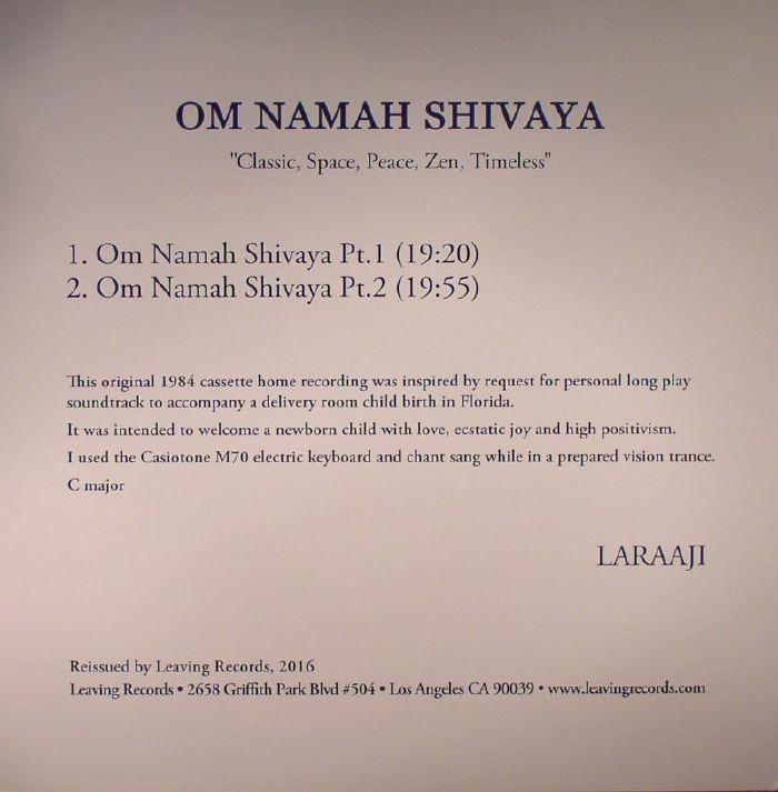 LARAAJI - Om Namah Shivaya