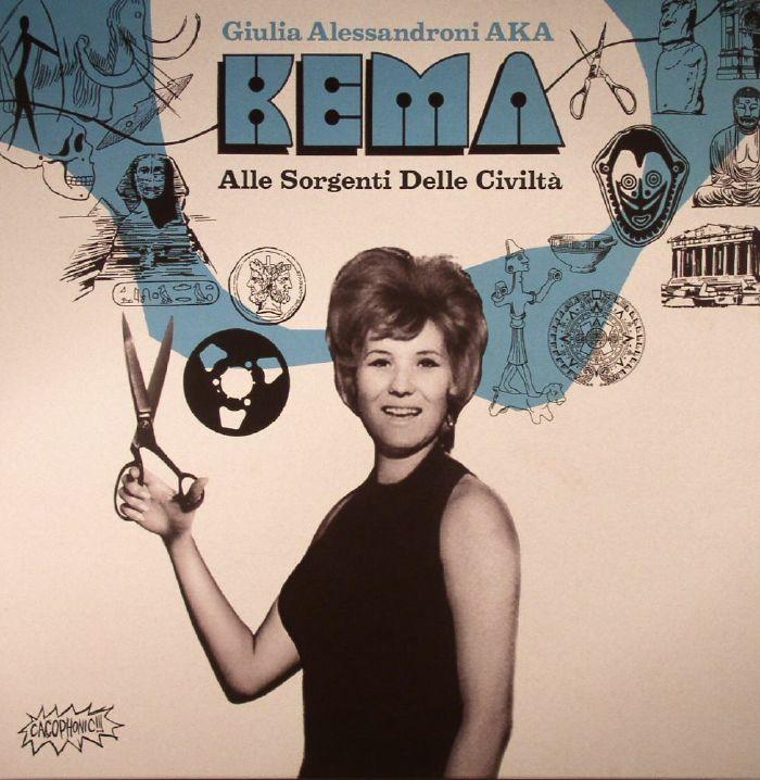 KEMA aka GIULIA ALLESANDRONI - Alle Sorgenti Delle Civilta (Soundtrack)