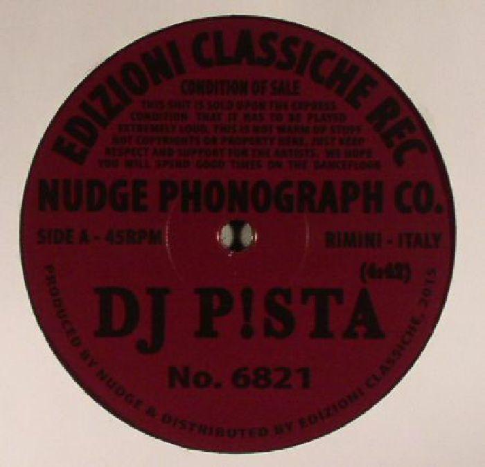 NUDGE PHONOGRAPH CO presents DJ P!STA/DUMBO BEAT - NO 6821