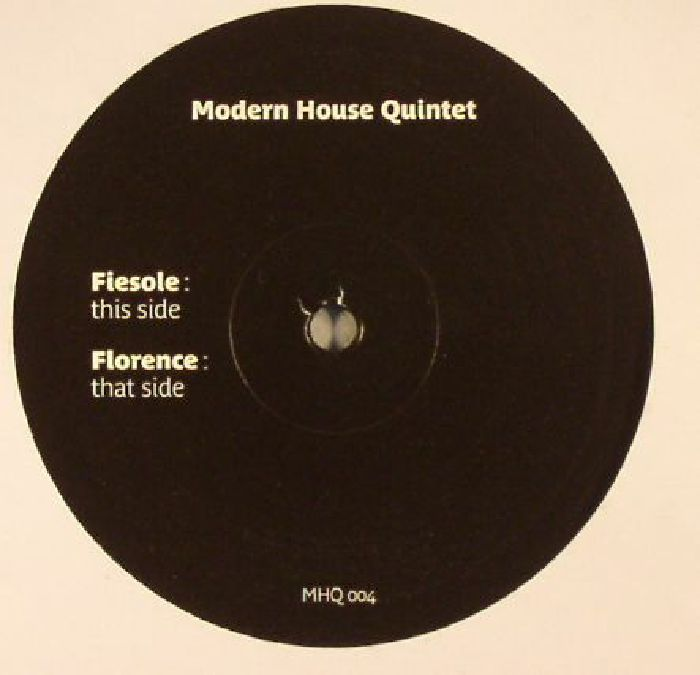 Modern house quintet fiesole florence vinyl at juno records for Modern house quintet chora