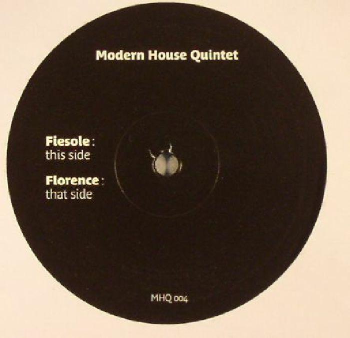 MODERN HOUSE QUINTET - Fiesole/Florence