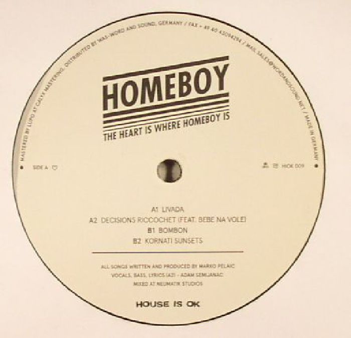 HOMEBOY - The Heart Is Where Homeboy Is