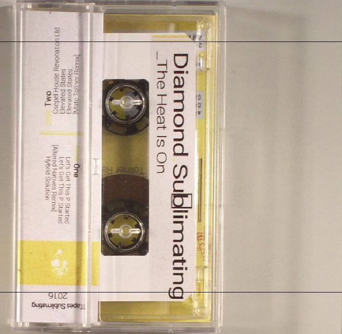 DIAMOND SUBLIMATING - The Heat Is On EP