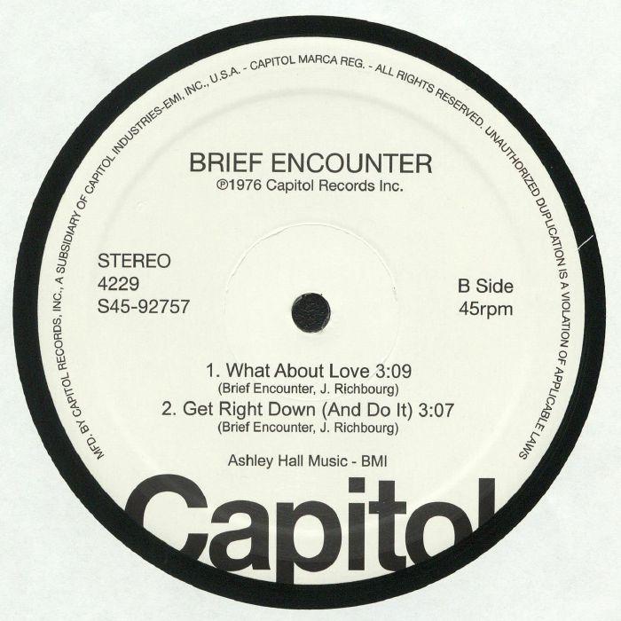 BROWN SUGAR/BRIEF ENCOUNTER - Capitol Disco Sampler