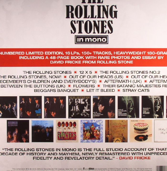ROLLING STONES, The - The Rolling Stones In Mono