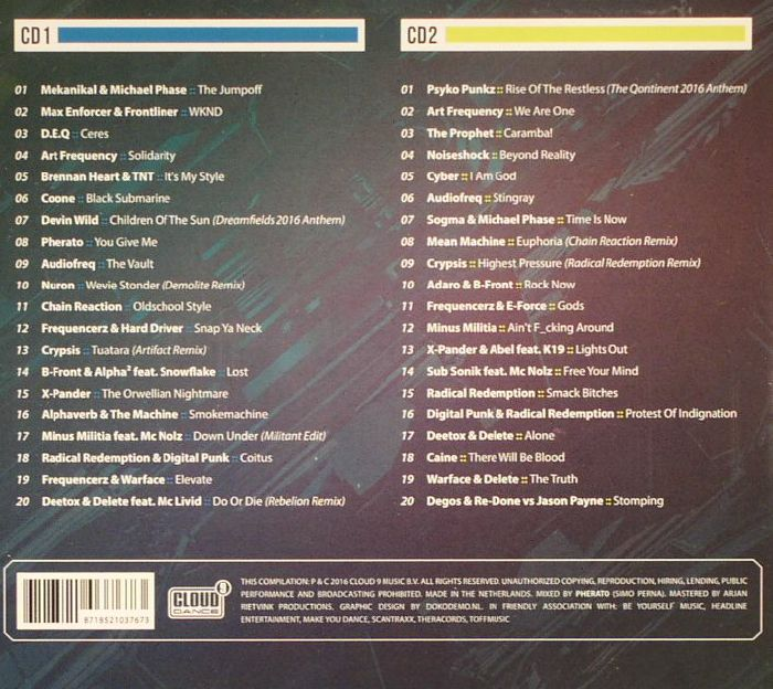 VARIOUS - Hardstyle: The Ultimate Collection 2016 Vol 3