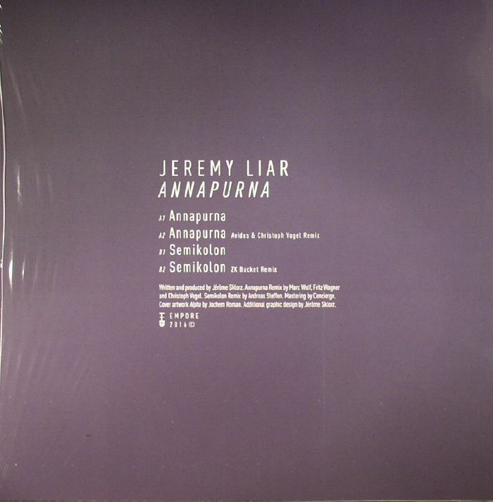 JEREMY LIAR - Annapurna