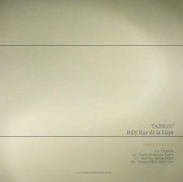 DE LA HAYE, Billy Ray   - Forest Fruit EP