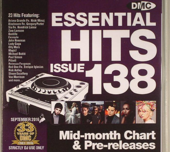 VARIOUS - DMC Essential Hits 138 (Strictly DJ Only)