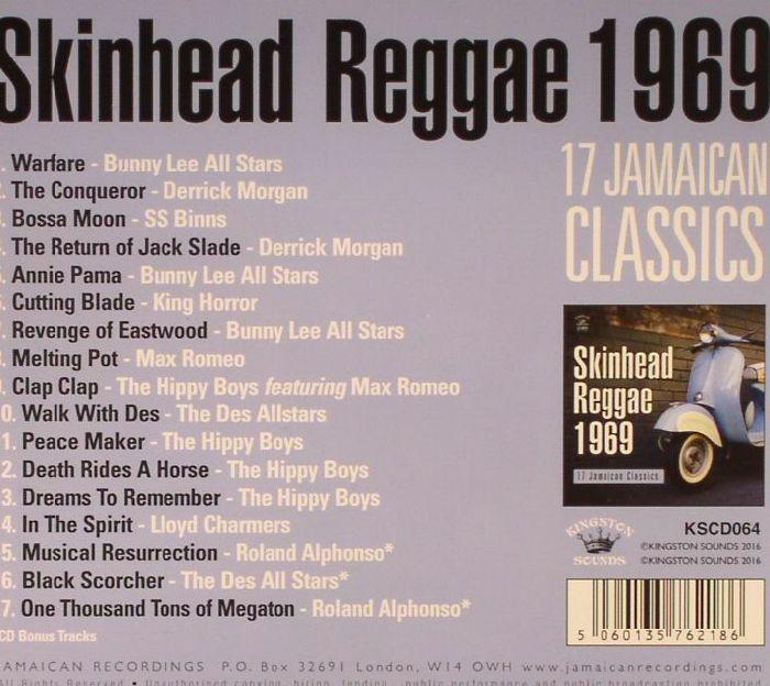VARIOUS - Skinhead Reggae 1969: 17 Jamaican Classics