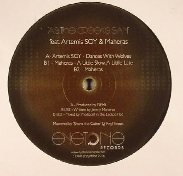 ARTEMIS SOY/MAHERAS - As The Greeks Say