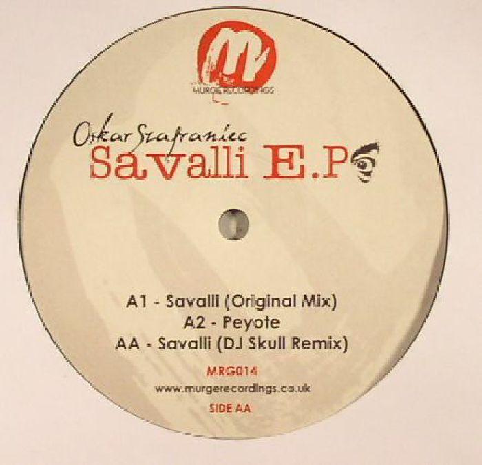 SZAFRANIEC, Oskar - Savalli EP