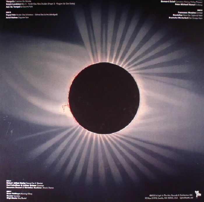 VARIOUS - (The Microcosm): Visionary Music Of Continental Europe 1970-1986