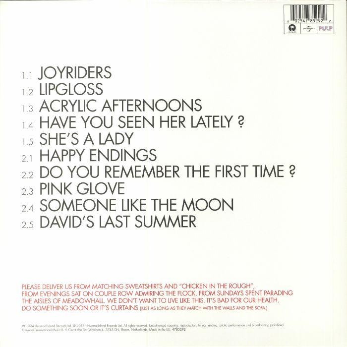 Pulp His N Hers Vinyl At Juno Records