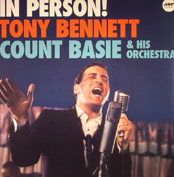 Tony Bennett Count Basie Amp His Orchestra In Person Vinyl