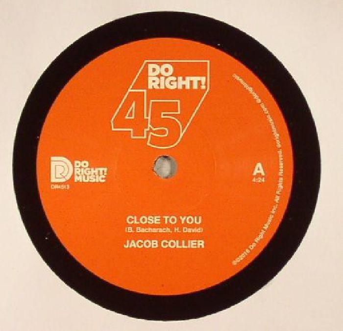 COLLIER, Jacob - Close To You