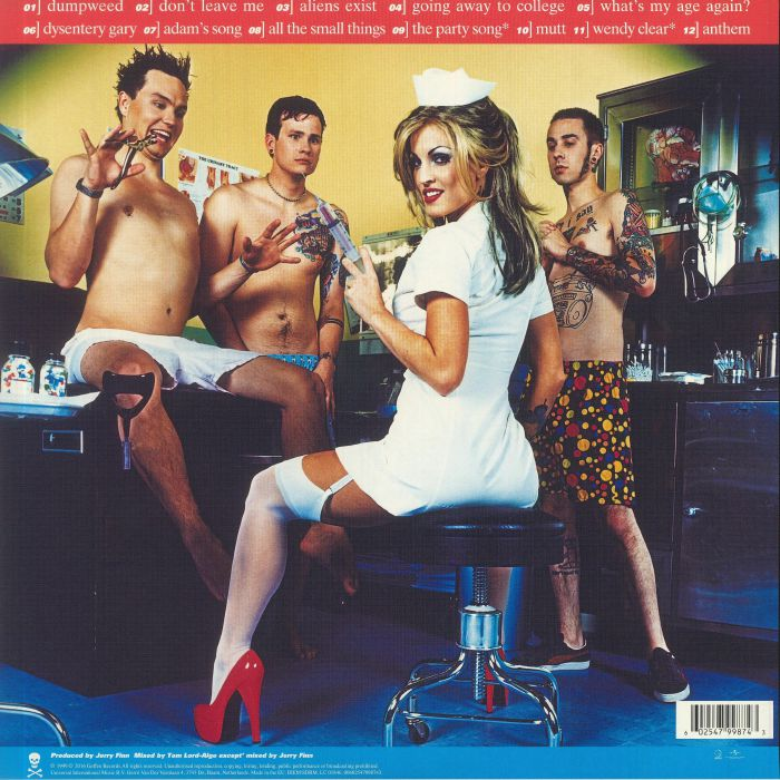 Blink 182 Enema Of The State Reissue Vinyl At Juno Records