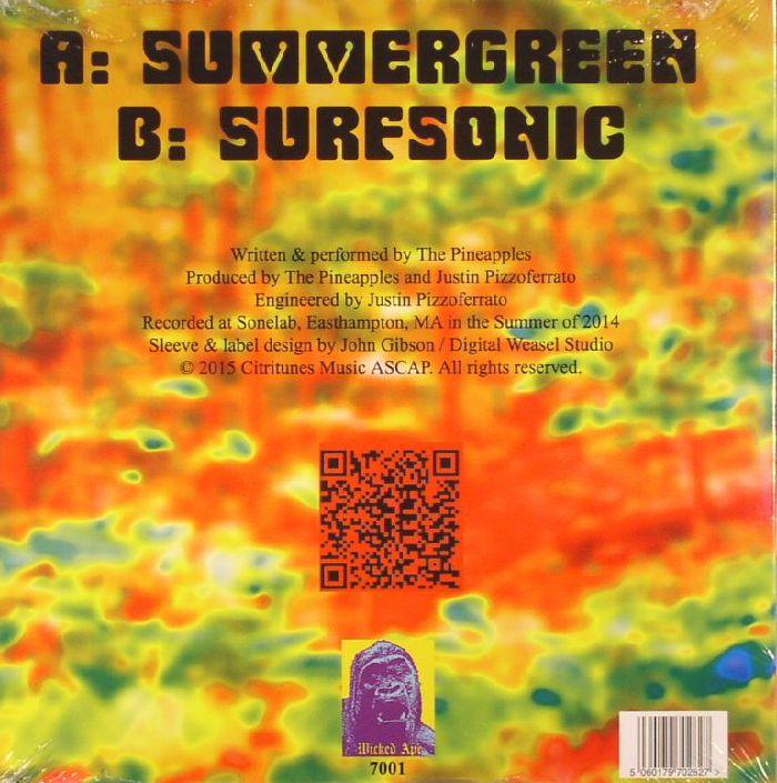 PINEAPPLES, The - Summergreen/Surfsonic