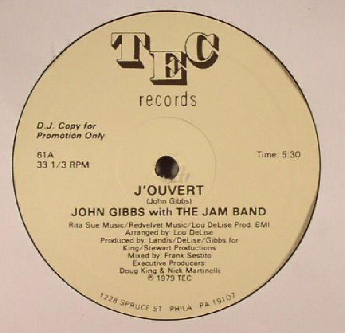 GIBBS, John with THE JAM BAND - J'Ouvert
