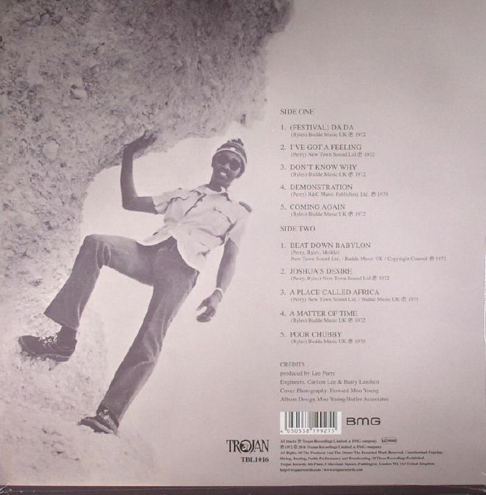 JUNIOR BYLES - Beat Down Babylon (reissue)