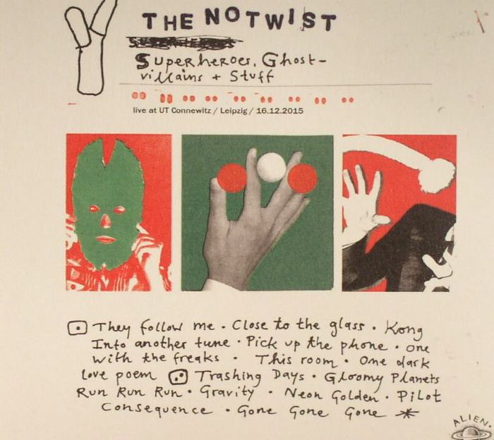 NOTWIST, The - Superheroes Ghostvillains & Stuff