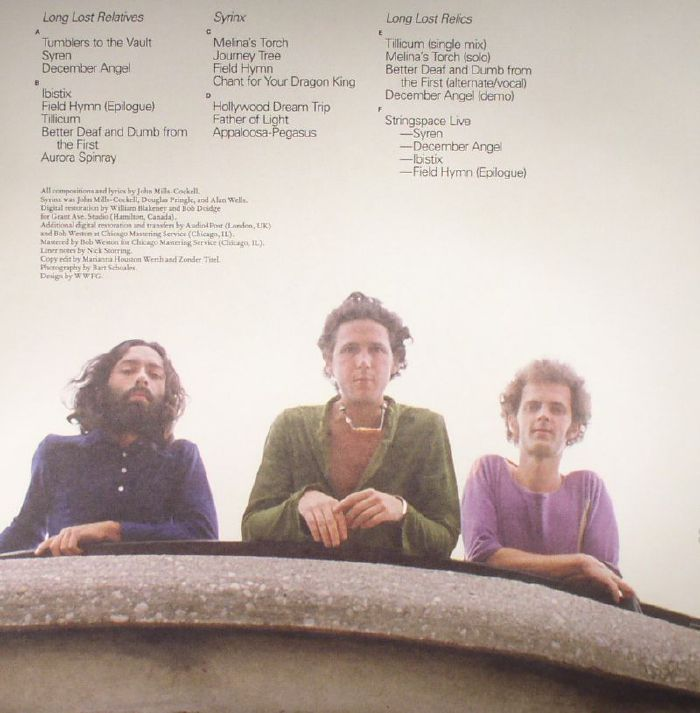 SYRINX - Tumbles From The Vault: 1970-1972