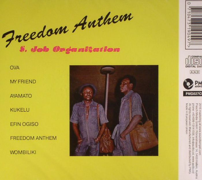 S JOB ORGANIZATION - Freedom Anthem