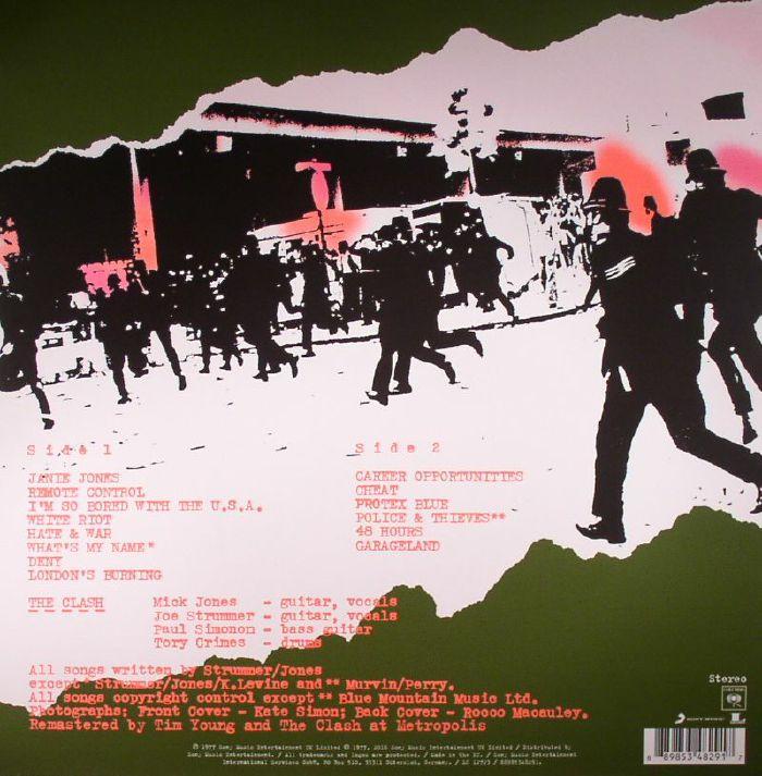 CLASH, The - The Clash (reissue)