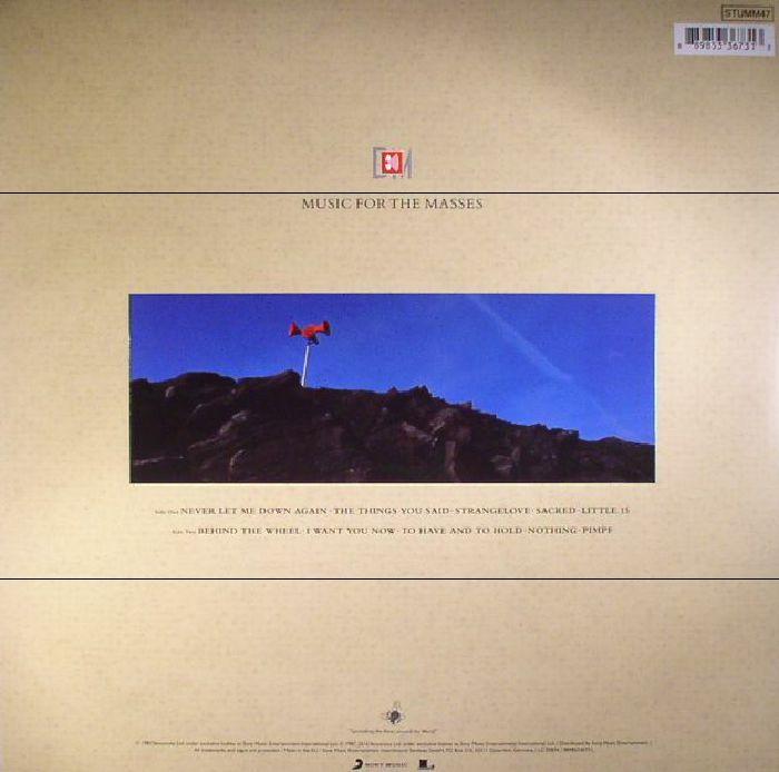 DEPECHE MODE - Music For The Masses (reissue)