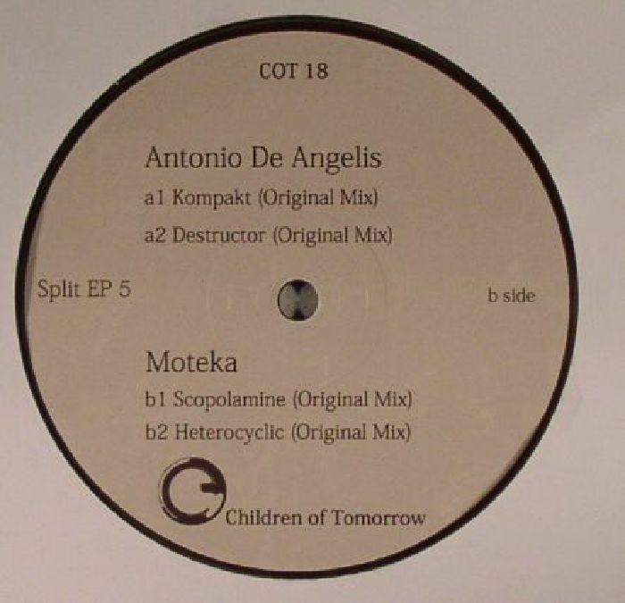 DE ANGELIS, Antonio/MOTEKA - Split EP 5