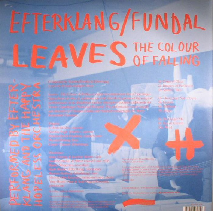 EFTERKLANG/FUNDAL - Leaves: The Colour Of Falling