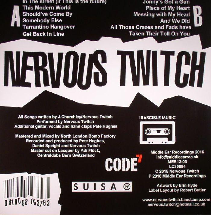 NERVOUS TWITCH Get Back In Line vinyl at Juno Records