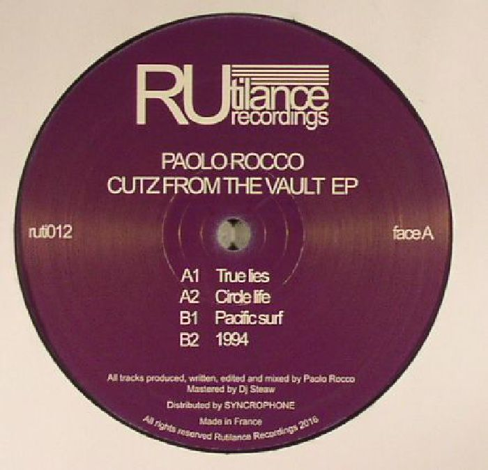 ROCCO, Paolo - Cutz From The Vault EP