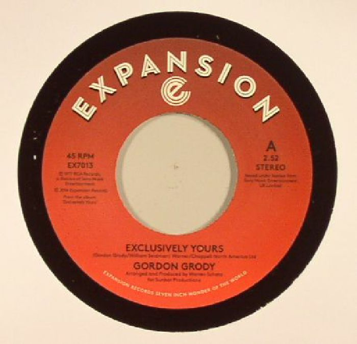GRODY, Gordon - Exclusively Yours