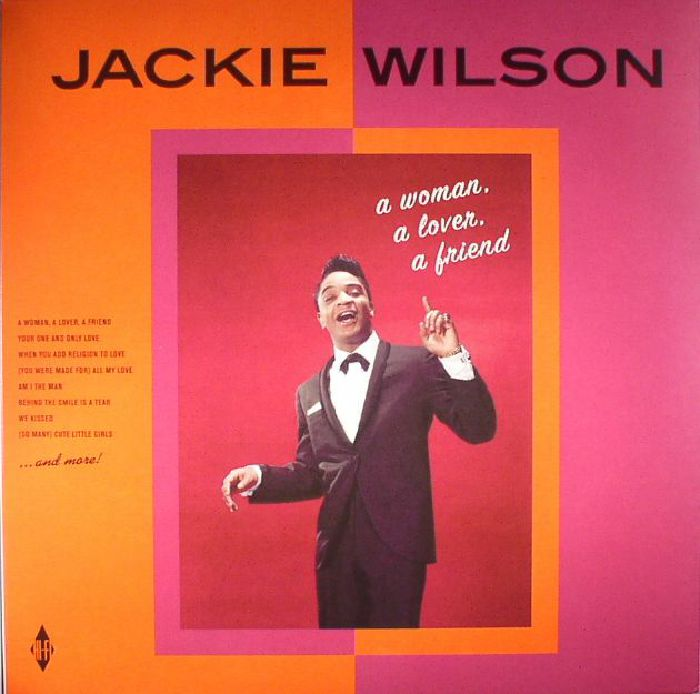 WILSON, Jackie - A Woman A Lover A Friend (reissue)