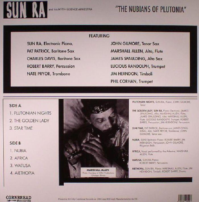 SUN RA - The Nubians Of Plutonia (reissue)