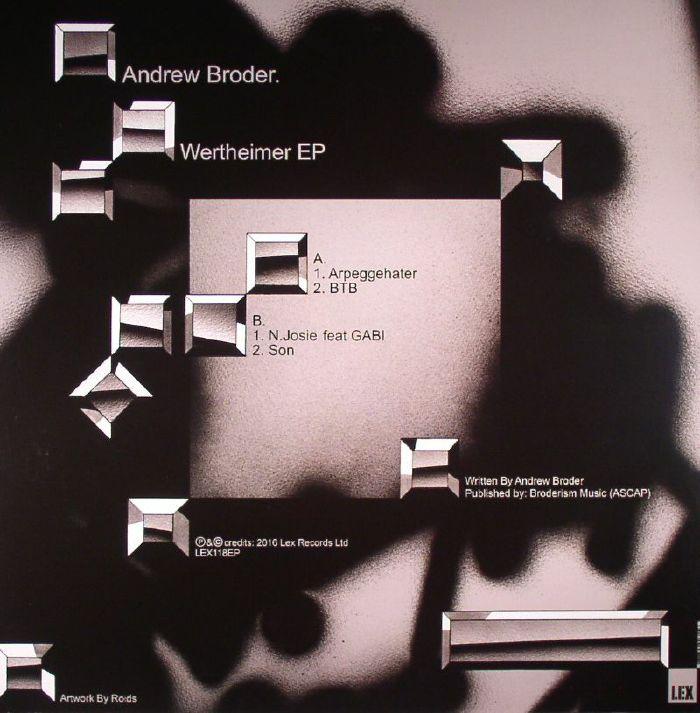 BRODER, Andrew - Wertheimer EP