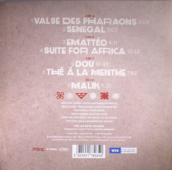 MOKHTAR SAMBA/WDR BIG BAND COLOGNE - Musique D'Afrique